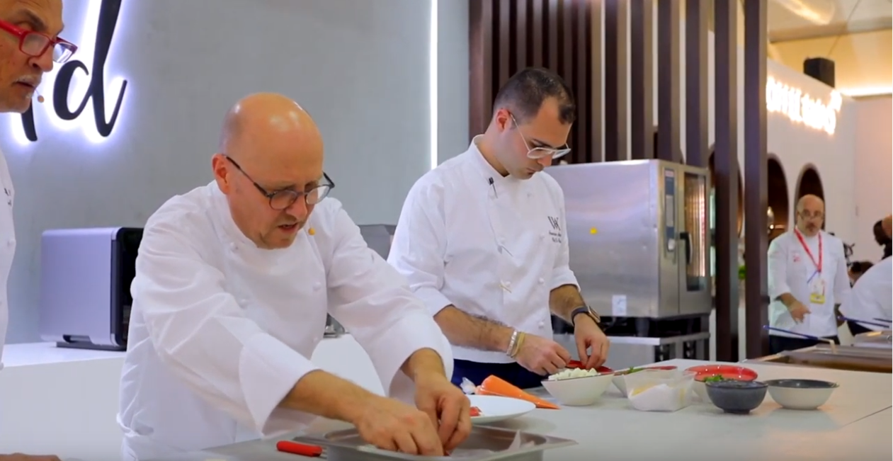 Chef Heinz Beck, 3 Michelin Star Chef, La Pergola, Roma, Italy