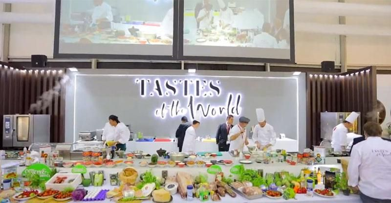 Celebrity Master-Chefs demonstrating the Art of Sustainable Cooking