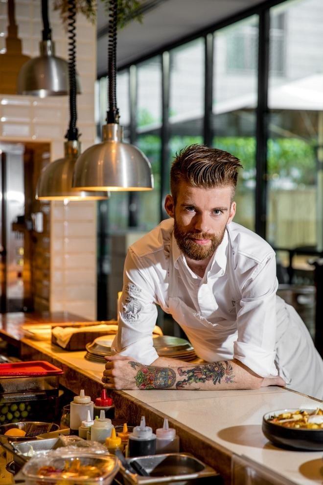 Chef Matthijs Stinnissen