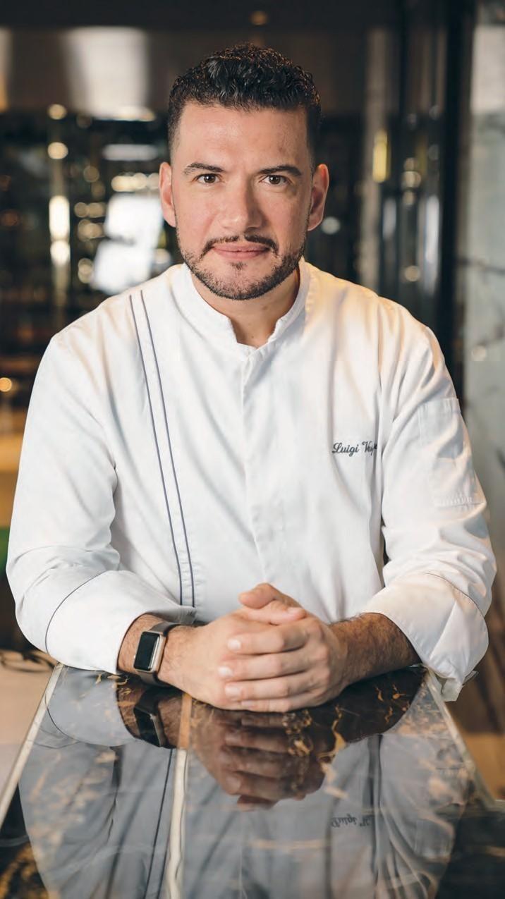 Chef Luigi Vespero