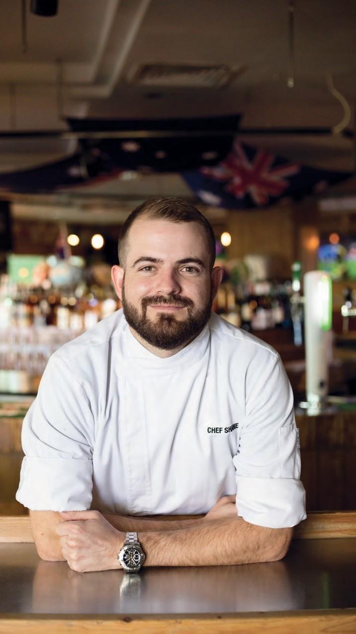 Chef Shane Born