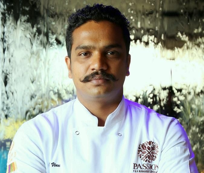 Chef Vinu Raveendran