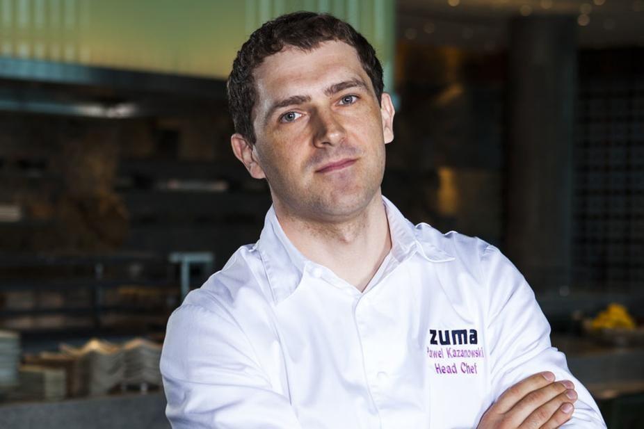 Chef Pawel Kazanowski