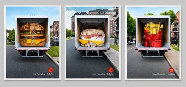 Campaign Trail: How McDonald's molds people's possessions into minimalist food ads