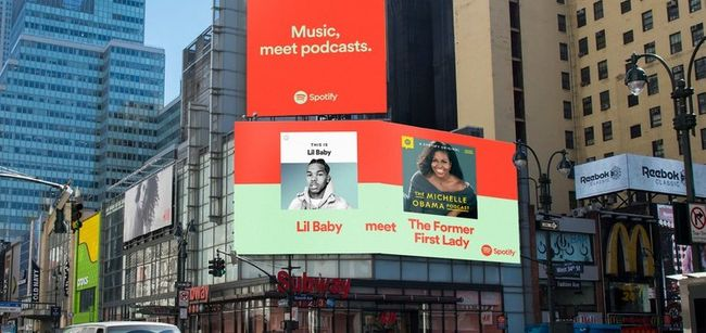 Spotify bands together music and podcasts in global multichannel campaign