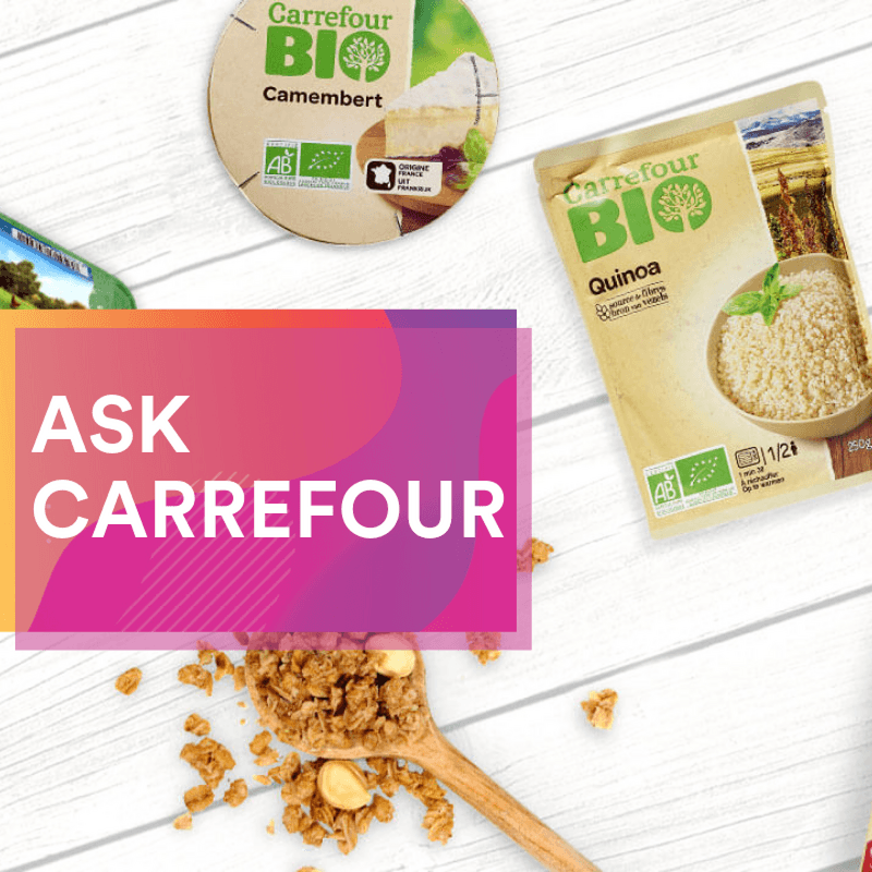 Ask the expeert carrefour private label