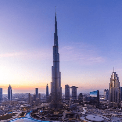 Marvel at the world's tallest building