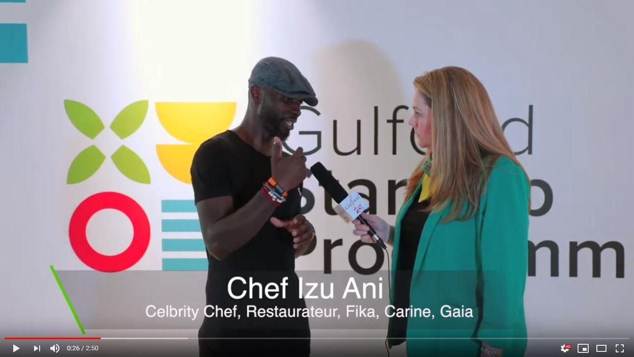 Interview - Chef Izu Ani, Celebrity Chef, Restaurateur - Fika, Carine, Gaia