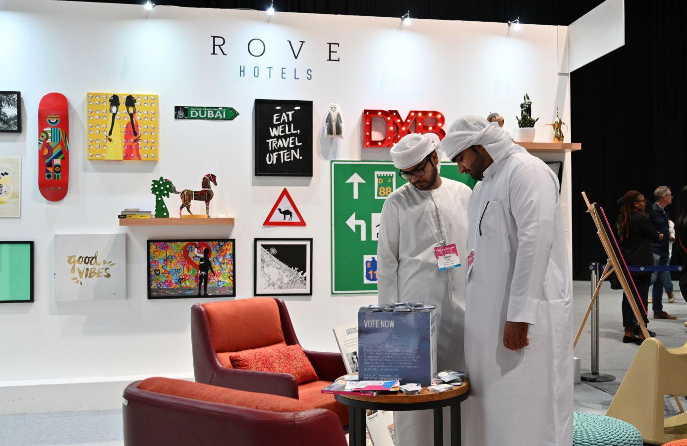 Rove Hotel Emerging Artists