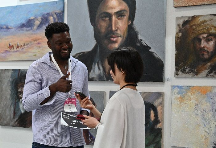 Curating Art Apparel At World Art Dubai