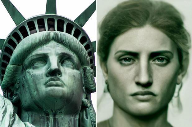 Statue of liberty AI