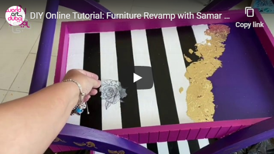 Furniture Revamp with Samar Kamel