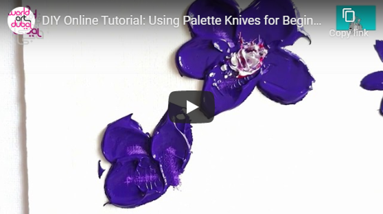 Palette Knives for Beginners with Artezaar