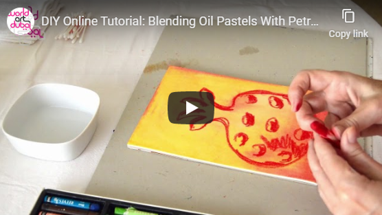 Blending Oil Pastels With Petra Kaltenbach