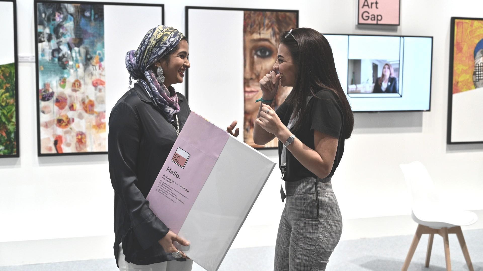 Art Gap By Standard Chartered World Art Dubai Diverse Affordable Original