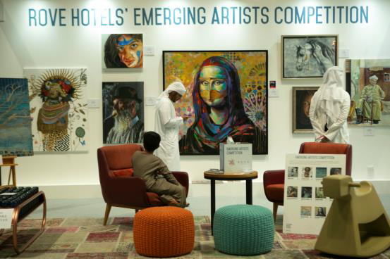 World Art Dubai Celebrates Emerging Artists