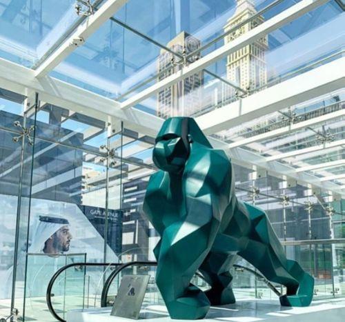 Idriss B at World Art Dubai