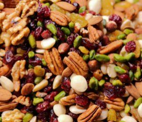 Nuts Dried Fruits & Vegetables