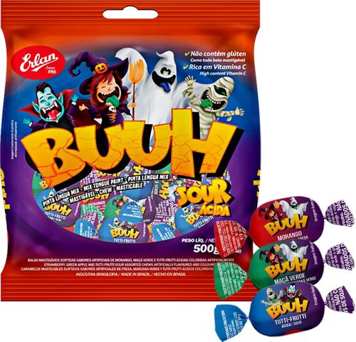 Chew Candy Buuh Tongue Paint - For  Halloween