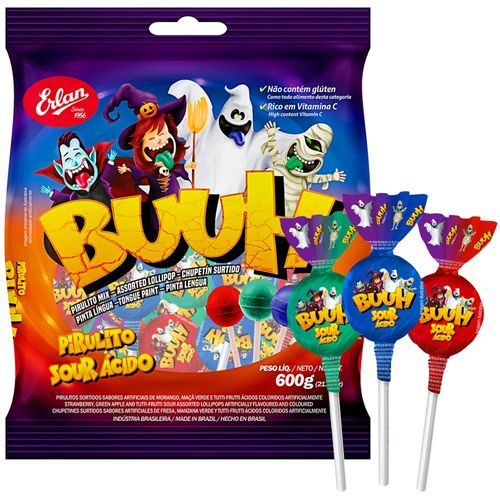 Lollipops Buuh Tongue Paint - For  Halloween