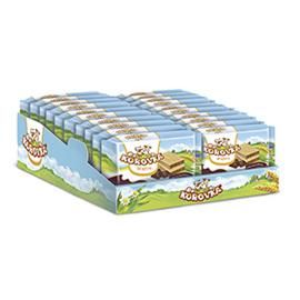 Wafers KOROVKA with cocoa filling display 150g