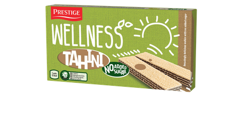 Wellness Tahini wafers with no added sugar