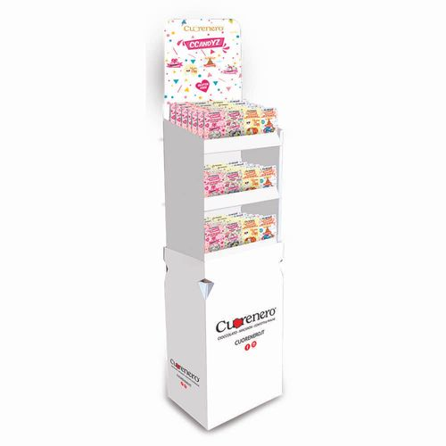 CCandYZ 150 g sugar coated chocolate collection - Floor stand display