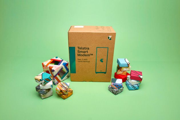 Telstra leads with 2022 packaging pledge