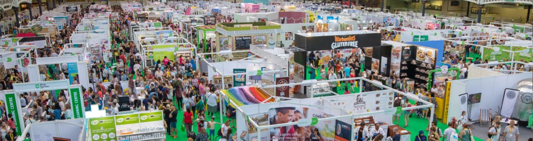 Interested in getting involved at The Allergy & Free From Show?