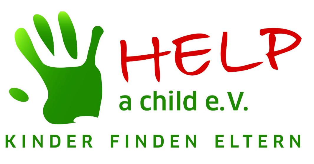 HELP a child e.V. Kinder finden Eltern