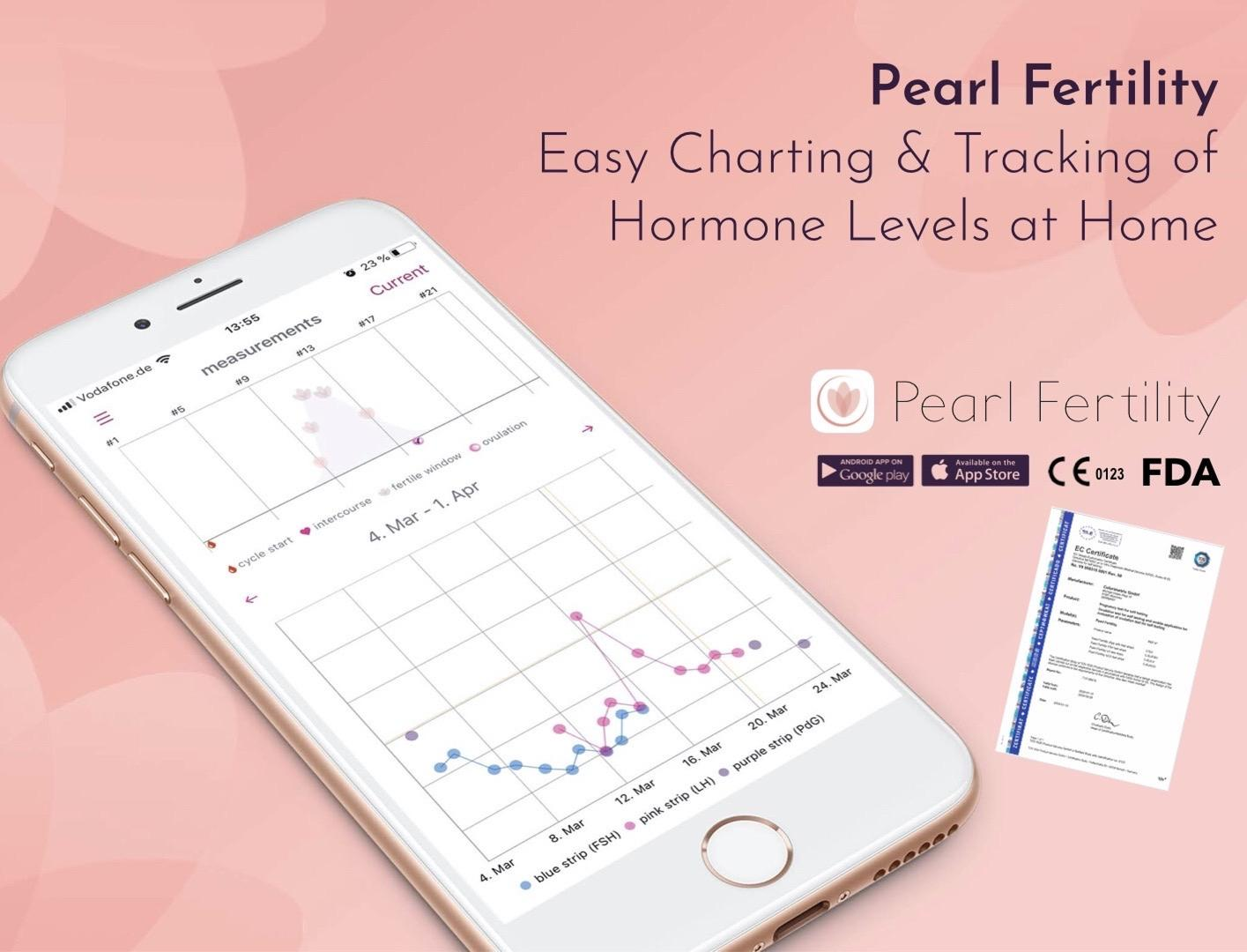 Pearl Fertility - CE certified, FDA listed.