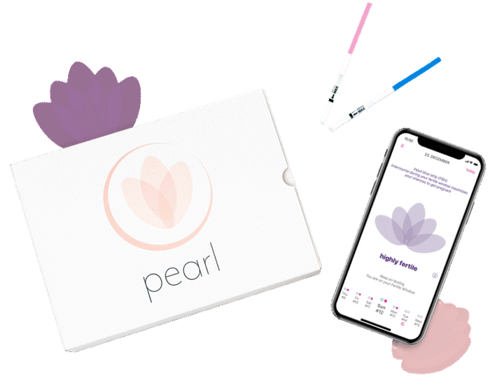 Pearl Fertility - innovatives Hormontracking und intelligenter Zyklusrechner