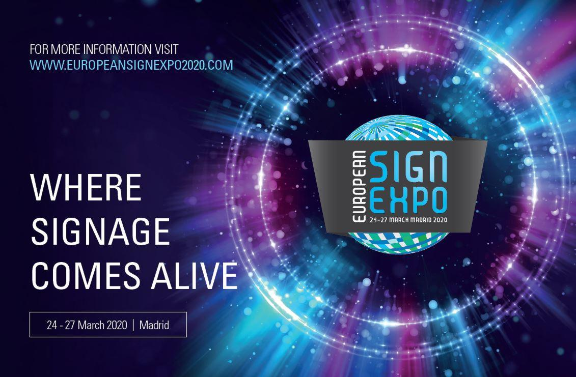 GET READY FOR MADRID IN MARCH 2020. IT'S WHERE SIGNAGE COMES ALIVE!