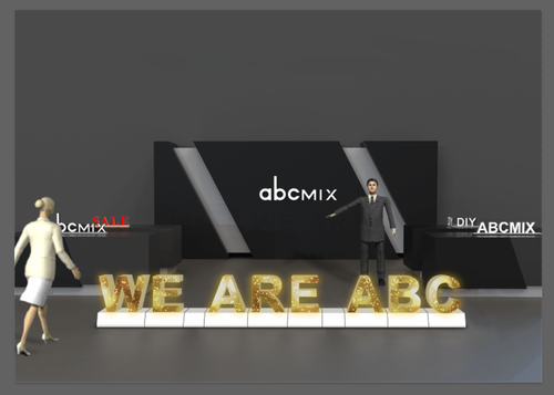 Letras ABCmix LED screen 50 cm