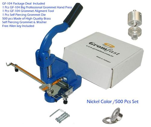 GF-104 Big Professional Grommet Hand Press(3 Year Warranty)