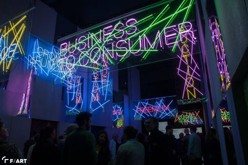 Neon lighting/art/architecture