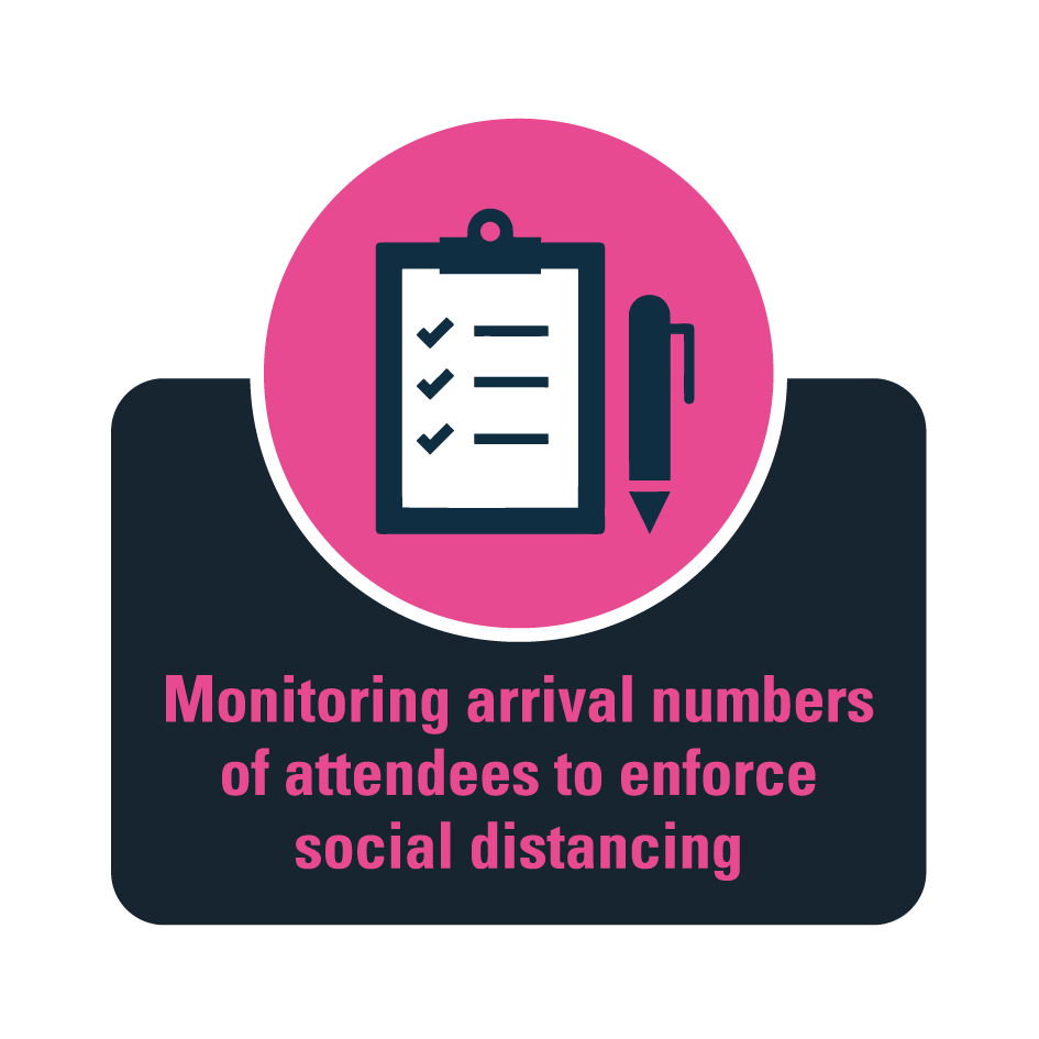 Monitoring attendees