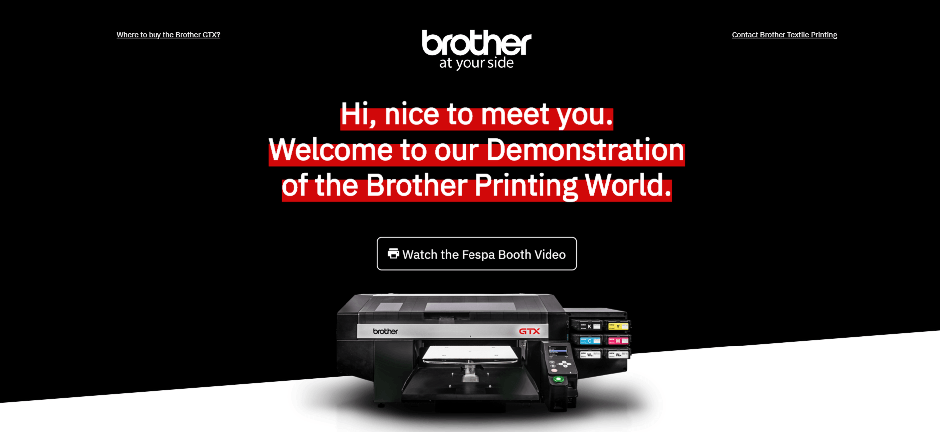Visit our FESPA exhibition stand virtually.