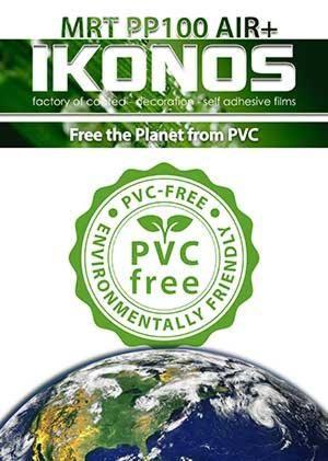 PVC-free printing media