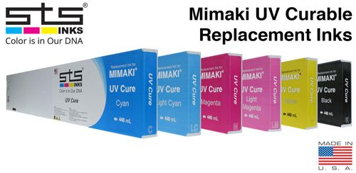 Mimaki UV Curable Replacement Inks