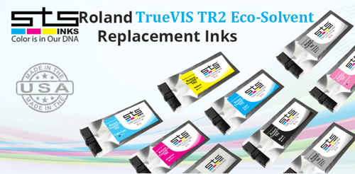 Roland TrueVIS TR2 Compatible Inks