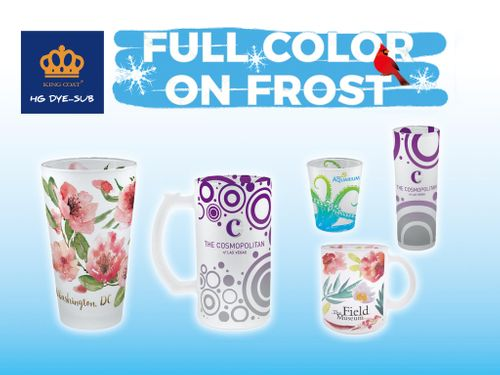 Frosted glass sublimation