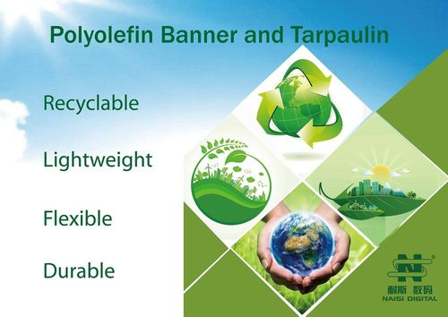 Recyclable Polyolefin Banner and Tarpaulin