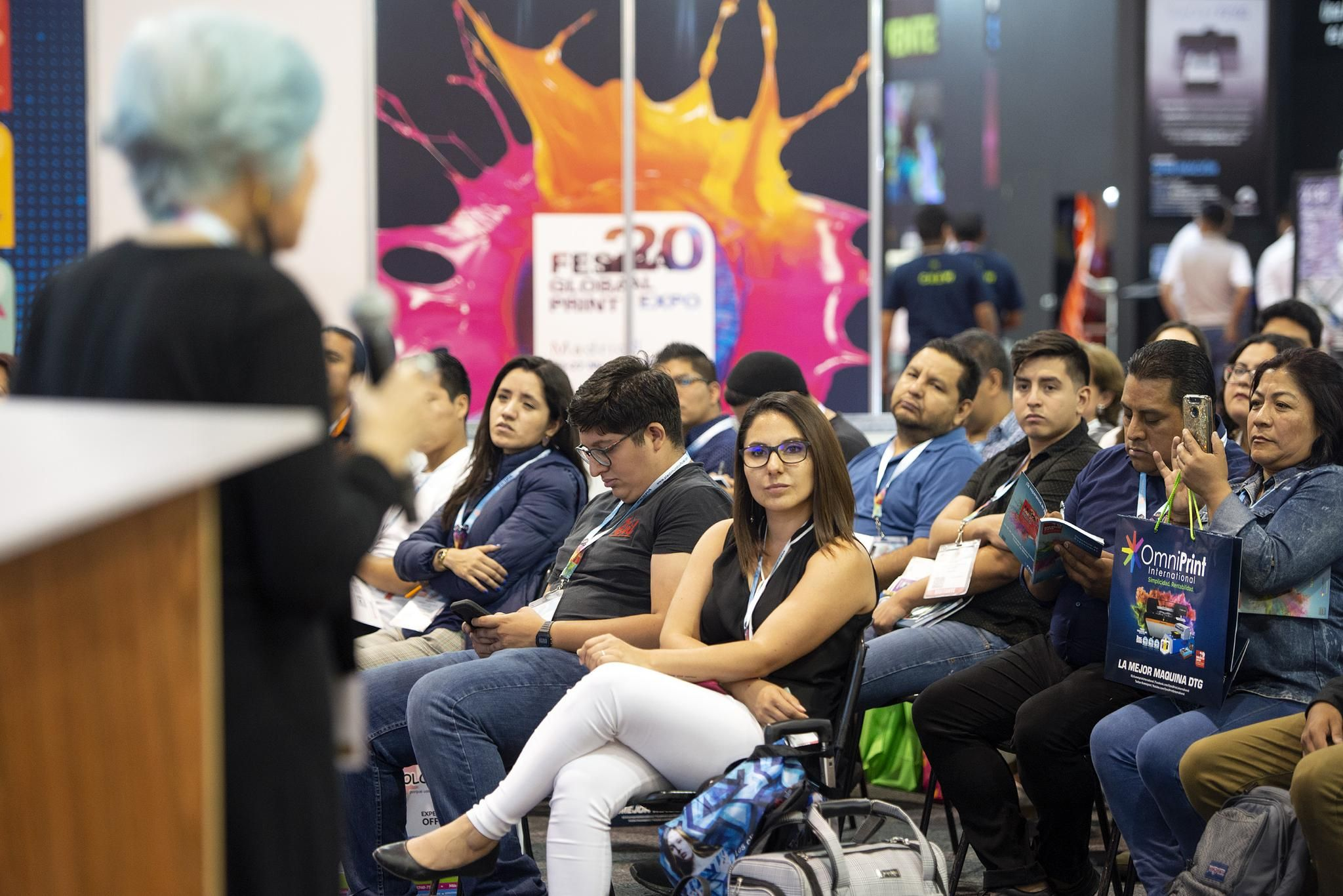 FESPA Mexico Conference 2019 - wide format digital printing, screen and textile print, garment decoration and signage