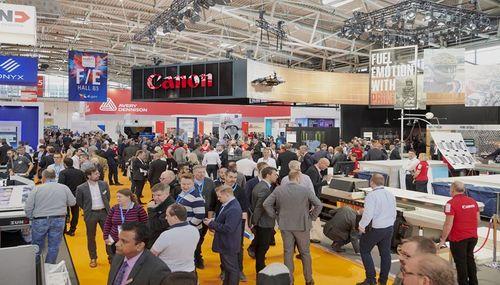 Los expositores se preparan para la reunión de Global Print Expo en Ámsterdam 2021