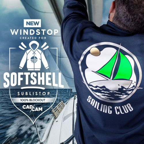 BF WINDSTOP - The new series for Softshell garments.