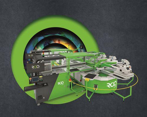 ROQ @ FESPA 2021 focus on 3rd Generation DTG printers