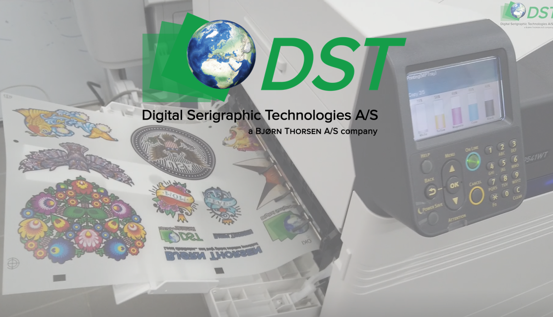DST Technology & OKI Pro9541WT printer