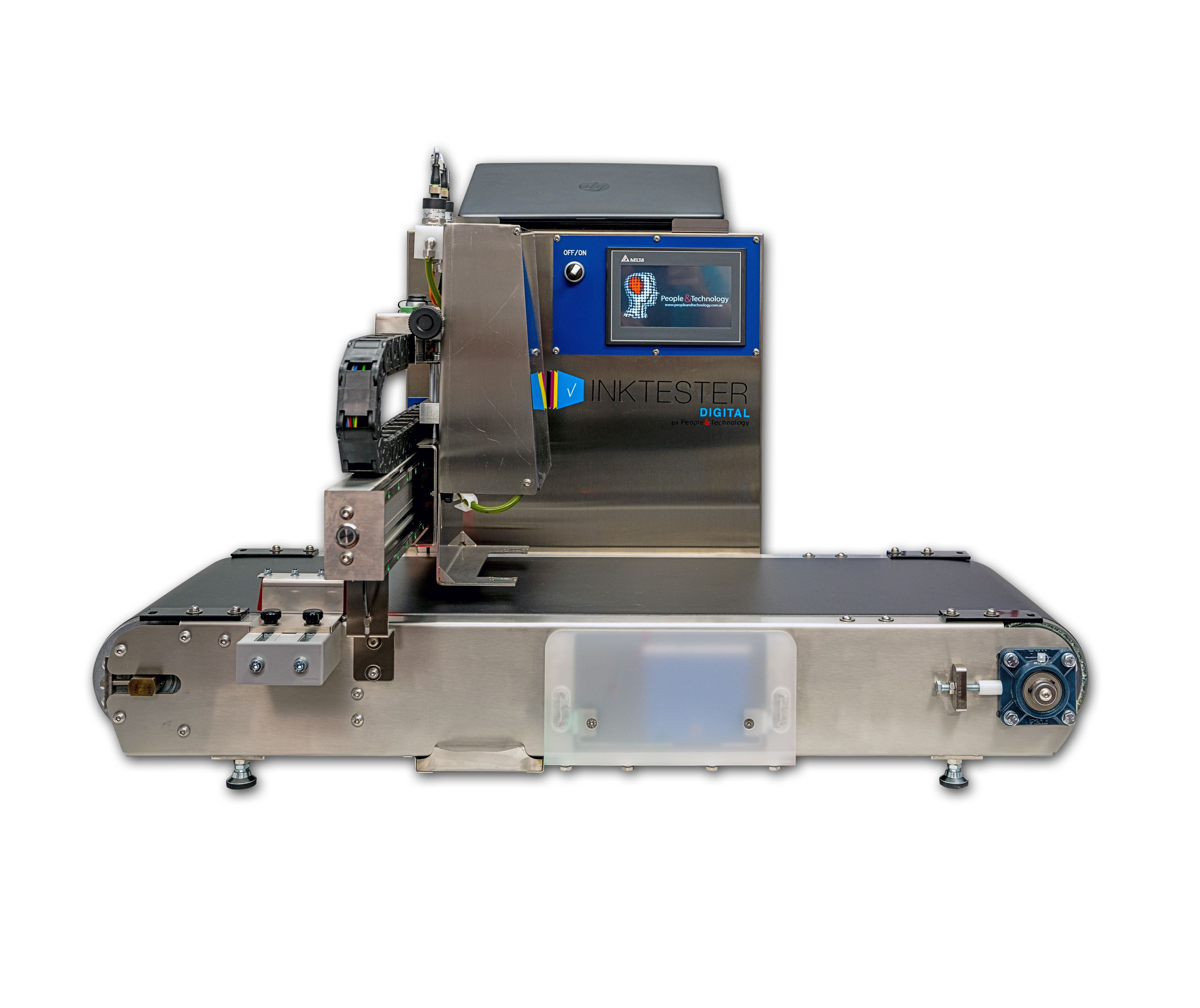 Testing lab machine for test inks, printheads or substrates