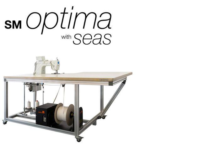 Semi-automatic SEG Keder Sewing System - MS Optima with SEAS